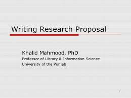 Being A Doctor Dissertation Proposal