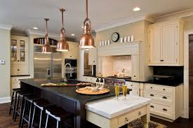 antique white cabinets kitchen traditional with glass front cabinets stainless steel appliances antique white pendant lighting