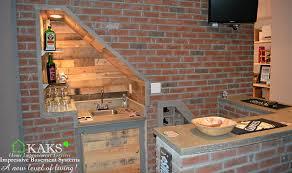 basement wet bar under stairs. Perfect Basement Basement Wet Bar Under Stairs 14 For S