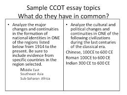 ccot essay example  ccot essay exolgbabogadosco ccot essay example
