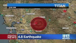 Earthquake Felt In DOCO – CBS Sacramento