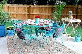 pretty painting metal outdoor furniture fresh painting metal patio furniture pattern gallery repaint metal garden table