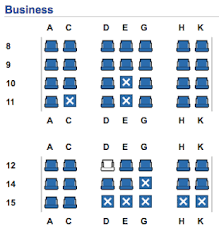 Egyptair Seating Chart Review Egyptair Business Class 777 Toronto To Cairo One