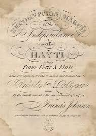 Dream Variants: Francis Johnson and Haiti