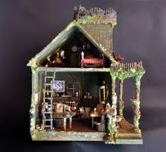 furniture fairy. unique fairy fairy house with furniture  by torisaur for
