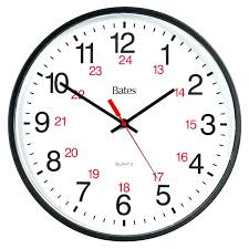 Military Time Chart Clock 24 Hour Conversion – Emlandscaping