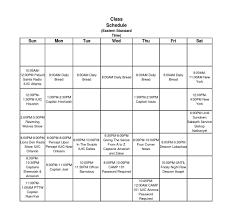 Online Class Schedule Israel United In Christ