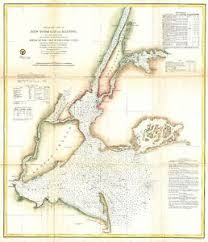 New York Harbor Nautical Chart Details About 1857 Coastal Survey Map Nautical Chart Of New York City And Harbor