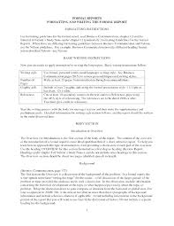 Business Reports Format Writing Incident Report Template