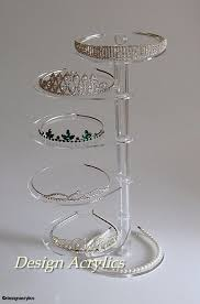 Acrylic Display Stands Uk Clear 100 Tier Tiara Jewellery Wedding Acrylic Display 80