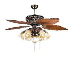 ceiling fan replacement glass fans with lights and leaf blades white wicker nautical double light co