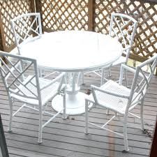 white iron patio furniture. Full Size Of Used White Wrought Iron Patio Furniture Cast Garden