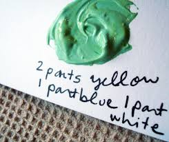 ... Extra-large Size of Impeccable How To Mix Green Paint N Green For For  Yellow .