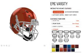 exocortex design your own nfl super bowl helmet with xenith