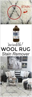see how i removed a stubborn tea stain out of our wool