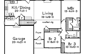 small one story house plans. Modern House Plans Medium Size One Story Open With Concept . Small S