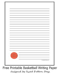 basketball lined writing paper a writing a  5 college application topics about basketball essay topics