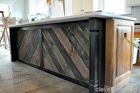 diy reclaimed wood kitchen island cleverlyinspired 16 cv