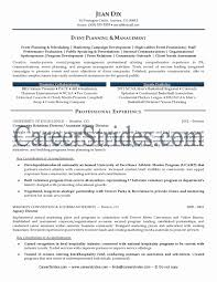 Event Coordinator Resume Sample Beautiful Pleasantduction Planner