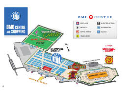 2014 Calgary Stampede Bmo Centre Map By Nonfiction Studios