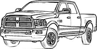Small Picture Dodge Car Longhorn Truck Coloring Pages Coloring Sky