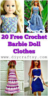 Free Barbie Crochet Patterns