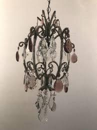vintage beaded crystal chandelier 7