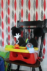 mickey mouse high chair the first years