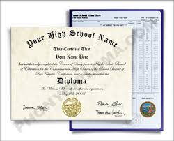 fake diplomas degrees certificates high school  high school diploma and transcripts southeast design