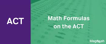 act math formulas magoosh