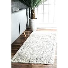 print rug light grey runner aztec bathroom