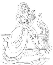 Small Picture fabulous disney princess color pages Coloring Pages drawasioinfo