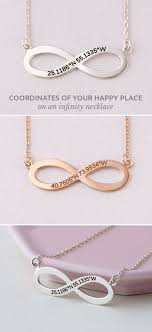 infinity coordinate necklace coordinates necklace longitude laude necklace end coordinates necklace silver coordinates necklace custom