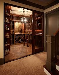 Home Wine Cellar Design Painting