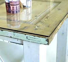 plexiglass table top cut to size door table option of putting glass over for a flat plexiglass table top