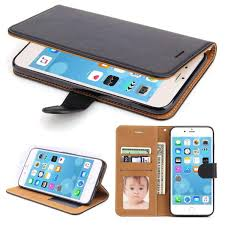 iphone 6 plus case sowoko book style iphone 6s plus leather wallet case