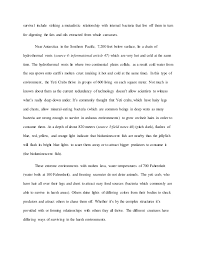 unit essay deep sea creatures  2 survival