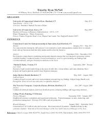 Resume Samples For Internships Internship Resume Sample With No Experience For Marketing Samples