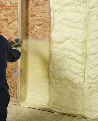 installing closed cell spray foam between studs is a waste