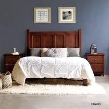 Platform Bedroom Furniture Grain Wood Furniture Shaker Platform Bed Reviews Wayfair