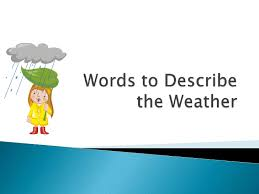 Mouse Mischief Words For Weather