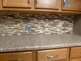 Western Kitchen Cinnamon Colored Backsplash Accent Tiles Western Kitchen