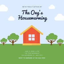 Housewarming Card Templates Customize 28 Housewarming Invitations Templates Online Canva