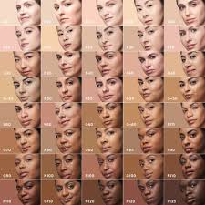 Sheer Cover Mineral Foundation Color Chart 11 All Inclusive Maybelline Foundation Colour Chart