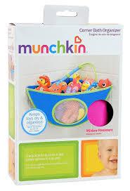 Amazon.com : Munchkin Corner Bath Organizer - blue (Discontinued ...