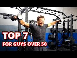Top 7 Dumbbell Exercises For Guys Over 50 Time To Man Up
