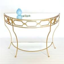 half round accent table half round console table by worlds away regarding tables idea 3 accent half round accent table