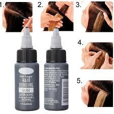 1 <b>Bottle 30ml</b> Hair <b>Glue</b> Lace Front Wig <b>Glue Liquid</b> For Hair ...
