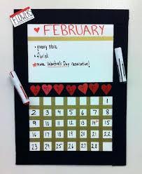 diy poster board calendar final calendar how to home interior decorating design ideas