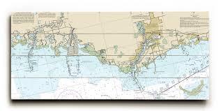 Chart 11411 Fl Port Richey Tarpon Springs Fl Nautical Chart Sign